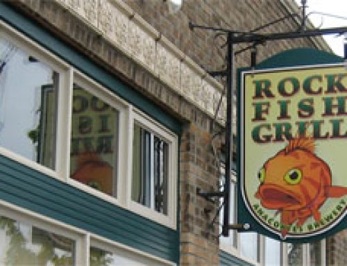 Best Happy Hour in Anacortes, Washington – Rockfish Grill Appetizers and Beer from the Anacortes Brewery
