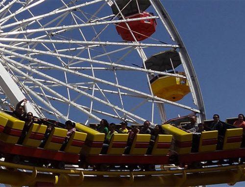 Santa Monica Pier Rides $12 Outing – Ferris Wheel, Bumper Cars & Air Hockey