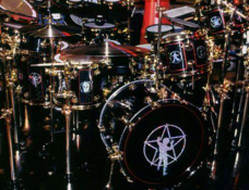 Travel Photos: RUSH – Neil Peart R30 Drum Kit – SS Professor Tour