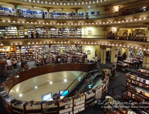 Buenos Aires: El Ateneo – The Most Beautiful Bookstore in the World